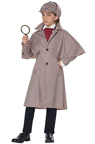 Spy Outfit For Kids (California Big Girls' Famous Detective Kid)