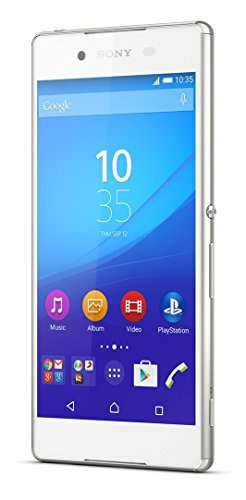Sony Xperia Z3+ (Z3 Plus) E6553 5.2-Inch 32GB Factory Unlocked Smartphone (White) - International Stock - No Warranty