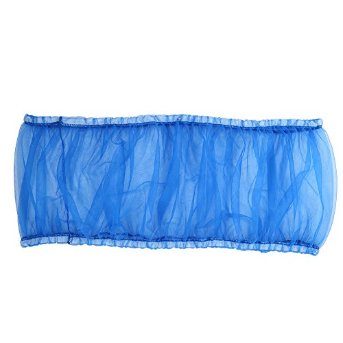 Estink Soft Ventilated Mesh Pet Bird Cage Seed Catcher Guard Cover Shell Skirt Decoration (Blue) by Estink