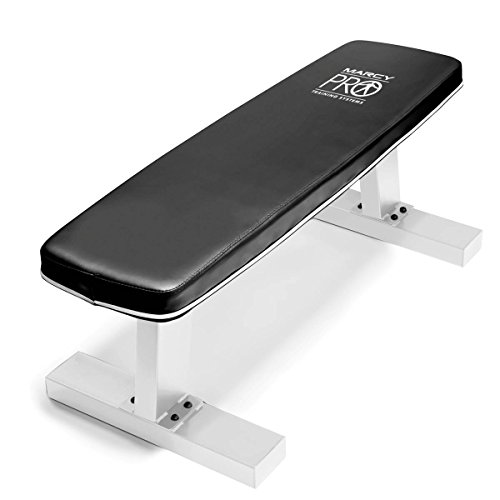 Marcy Home Gym Exercise Fitness Training Workout Flat Board Weight Lifting Bench by Marcy Fitness