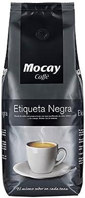 Mocay caffè Etiqueta Negra café en grano Natural Vending 1 kg ...