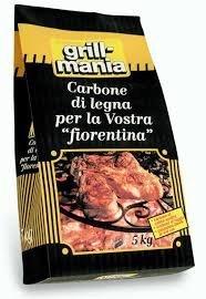 BRICCHETTI DI CARBONE PRESSATO KG.3 x GRILL/BAR GRILL MANIA