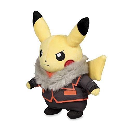 Pikachu Costume Plush (Pokémon POKÉ PLUSH BOSS COSTUME PIKACHU, TEAM FLARE - LYSANDRE)