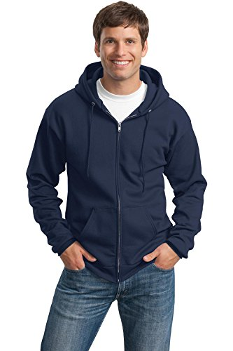 Navy Classic Hoody Sweatshirt - 7
