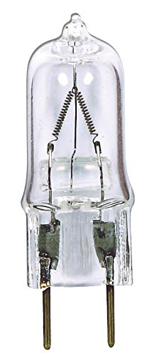 Satco 50T4/CL/G8 Halogen Bi Pin Halogen, 50W G8 T4, Clear Bulb [Pack of 24] by SATCO