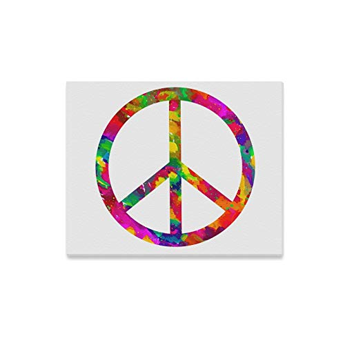 - Wall Art Painting Sign Peace Prints On Canvas The Picture Landscape Pictures Oil for Home Modern Decoration Print Decor for Living Room