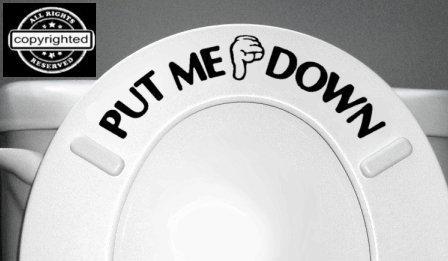 Buy toilet seat decals