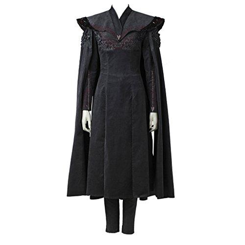 CosplayDiy Women's Dress for Game of Thrones VII Daenerys Targaryen Cosplay S