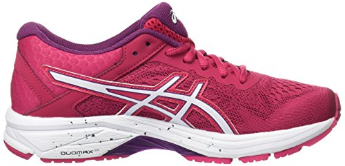 Asics Donna Gt-1000 6, Cosmo Rosa / Bianco / Prugna Cosmo Rosa / Bianco / Prugna