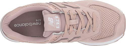 Scarpe Classics New Lacci Balance Wl574 Sneakers Rosa Cipria Donna Earthen Nbm nzYXaXxdq
