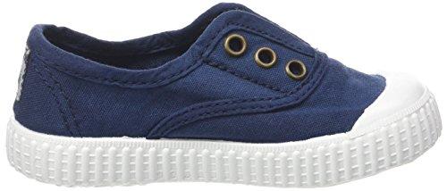 niños de casa Victoria tela Blue para Zapatillas de Marineblau TzA5YW