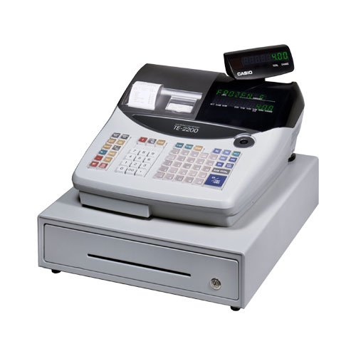 CASIO CSOTE2200 Casio Te-2200 25 Dept - Thermal Cash Register