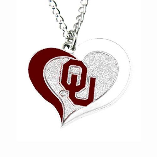 aminco NCAA Tennessee Volunteers Heart Pendant