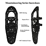 FLASHTEK 21/25/30 Inches Light Weight Snowshoes for
