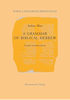 Amazon phonology and morphology of biblical hebrew a grammar of biblical hebrew porta linguarum orientalium neue serie band 12 fandeluxe Gallery