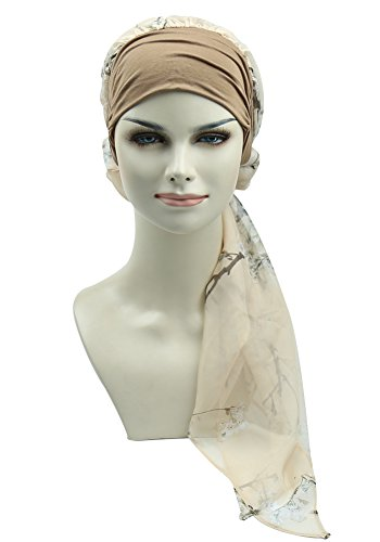 Head Scarves For Cancer Patients Chemo Caps Headwear Cotton Bandana Chemotherapy Headcovers