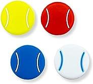 Tannius Tennis Racket Vibration Dampener, 2 Designs(4-5 Packs), Racket String Shock Absorber, Great Tennis Gif