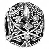 GIGA Chrome Heart silver beads for bracelet/necklace