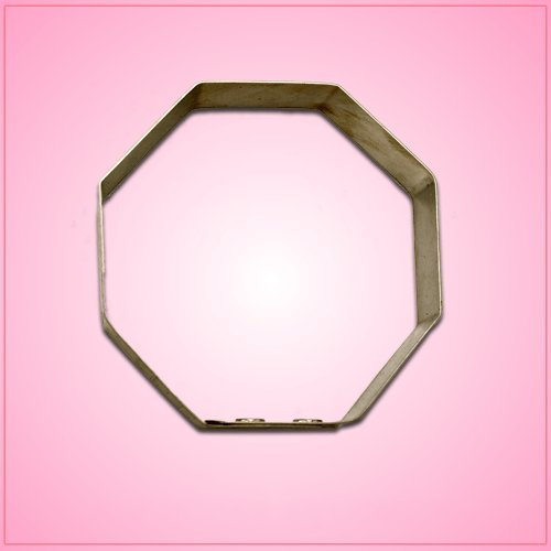 Octagon Cookie Cutter 3 inches-aluminum
