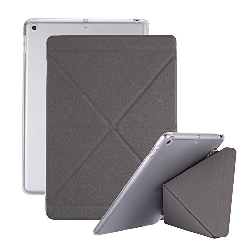 NEW iPad 2017 9.7 case - Martin Jerry iPad Case 5th Generation 2017 Slim Lightweight Smart Stand Cover with Back Protector for ipad 9.7 inch ipad - Martin Glasses Martin