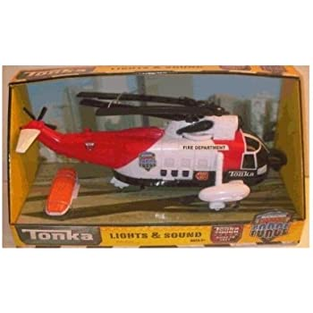 Tonka Lights & Sound Rescue Helicopter ~ Red