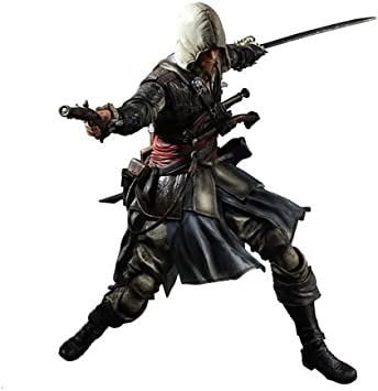 Assassin S Creed Iv Black Flag Play Arts Kai Edward Kenway Amazon