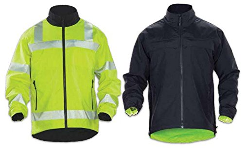 - 5.11 Men's Reversible High-Visibility Soft-Shell Jacket, High Vis Yellow, X-Large