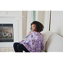 Udder Covers Breast Feeding Nursing Cover Aubrey, Purple
