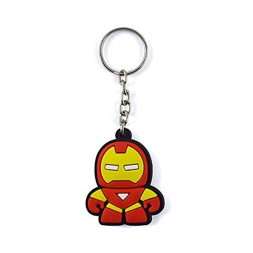 Chaveiro Emborrachado Cute Homem De Ferro