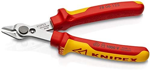 クニペックス(KNIPEX) 絶縁スーパーニッパー 000506 7806-125