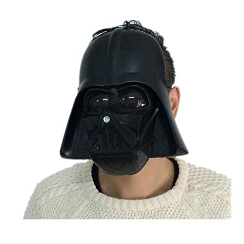 mywaxberry Black Halloween Festival Star Wars Clone Troopers Black Knight Empire Cosplay mask ()