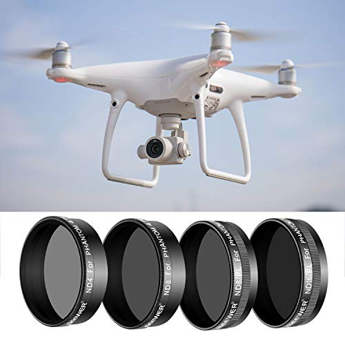 Neewer 4 Pieces Pro Lens Filter Kit