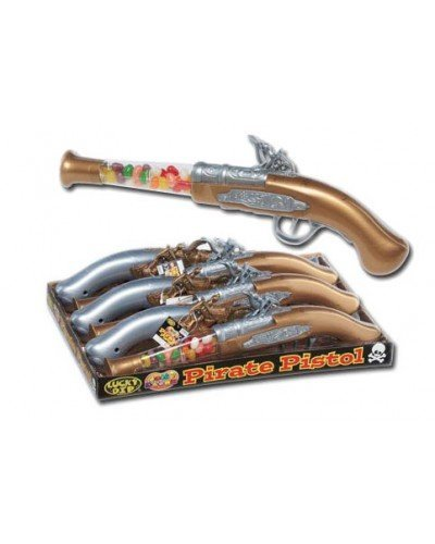 Lucky Dip 1 X Jelly Bean Blunderbuss Pirate Pistol Blasts Of Flavour Lots Of Great Stocking Filler