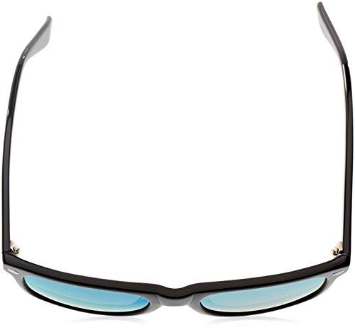 Ocean Sunglasses Beach wayfarer - lunettes de soleil polarisées - Monture : Noir Laqué - Verres : Revo Jaune (18202.2) wMZ6o