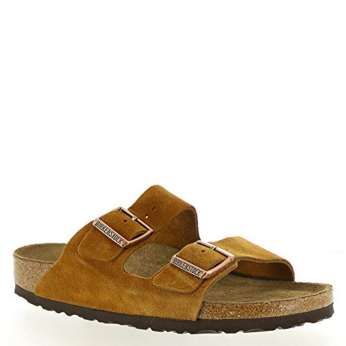 Birkenstock Unisex Arizona Soft Footbed Mink Sandal - 36 NAR