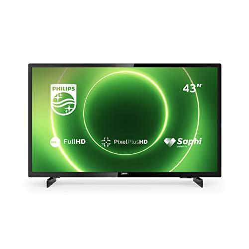 PHILIPS 43PFS6805/12 43-inch televisie (Full HD LED TV, Pixel Plus HD, HDR 10, Saphi Smart TV, full-range-luidspreker, 3…