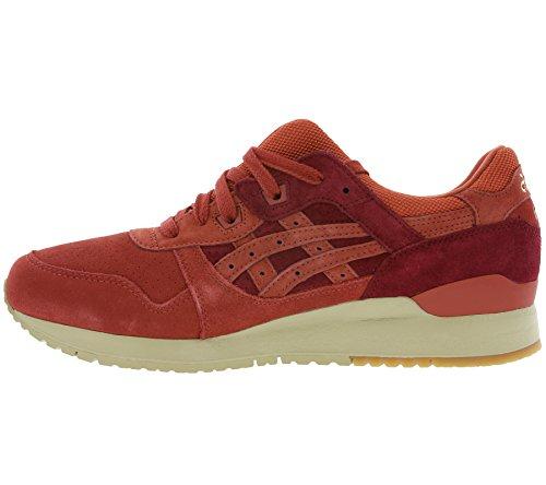 Asics Gel-Lyte III 'Tandoori Pack' de baskets en cuir véritable rouge H7Q4L 2727