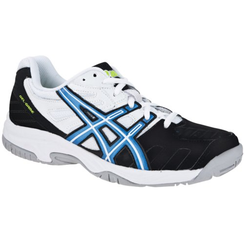 asics GEL-GAME 4 GS Outdoor-Tennisschuhe (Junior), black/royal blue/white