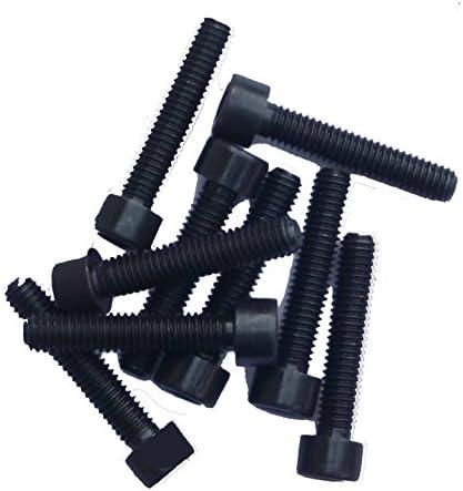 schwarz blank M5x20 Zylinderschrauben mit Innensechskant DIN 912 Kl.12.9 25 St/ück