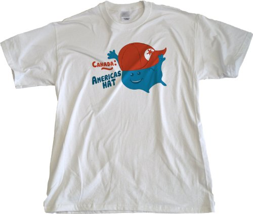 Ann Arbor T-Shirt Co. Men's Canada: America'S Hat T-Shirt