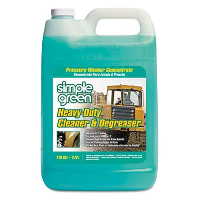 (Heavy-Duty Cleaner & Degreaser Pressure Washer Concentrate, 1 Gal Bottle, 4/ct)