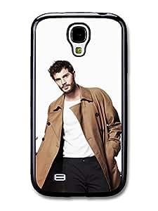 AMAF ? Accessories Christian Grey Jamie Dornan Posing in Brown Coat case for Samsung Galaxy S4 wangjiang maoyi by lolosakes