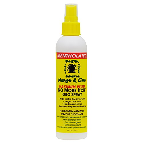 Jamaican Mango & Lime Maximum Relief No More Itch Spray Mentholated 8oz