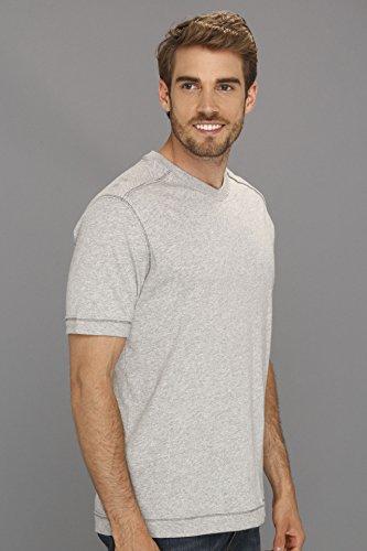 Tommy Bahama Denim Men's Cohen V-Neck Light Grey Heather T-Shirt LG
