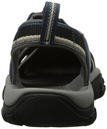 KEEN Herren Newport H2 Sandale Midnight Navy / Feather Grey