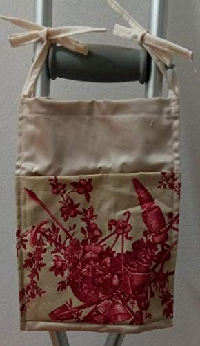 Garden Toile Crutch Bag Pouch Storage from Craft and Sewing Box
