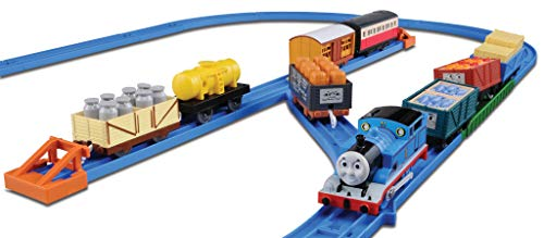Takara Tomy Tomica PraRail Thomas & Friends Train Freight Loading Set (Model Train)