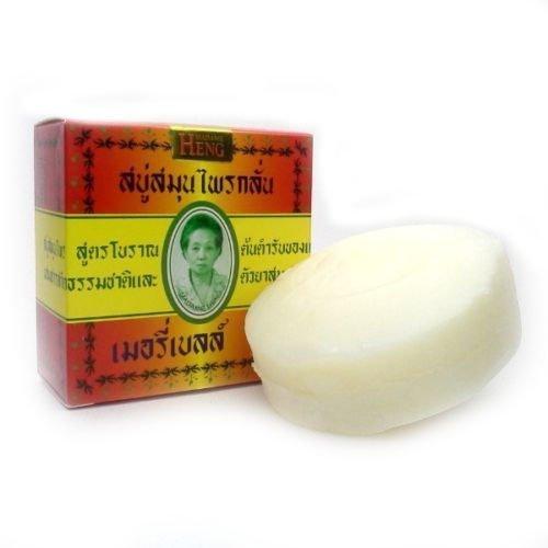 6x MADAME HENG NATURAL SOAP BAR MERRY BELL ORIGINAL THAI net wt 5.64 OZ.or 160g. (Pack of 6 bar)