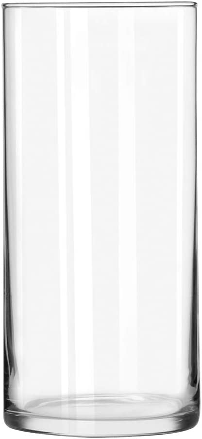 """Floral Supply Online - 7.5"""" Tall x 3.5"""" Wide Cylinder Glass Vase for Weddings, Events, Decorating, Arrangements, Flowers, Office, or Home Decor."""