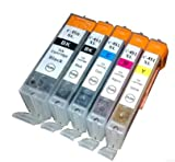 5 Pcs For Canon 450 451PGI450 CLI451 Ink Cartridge For Canon PIXMA MG7140 MG6440 MG5540 Inkjet Printer Cartridge